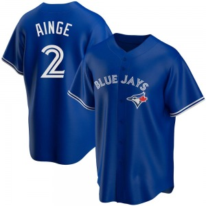 Youth Danny Ainge Toronto Blue Jays Replica Royal Alternate Jersey
